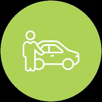 icon of auto image fraud